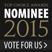 Top Choice Award Nominee 2015